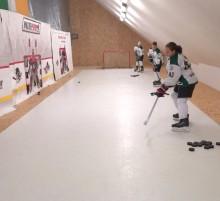 hokej strelnica