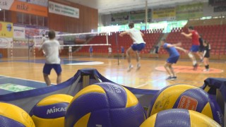 volejbal trening VK OSMOS